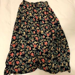 Urban Outfitters Vintage boho skirt floral